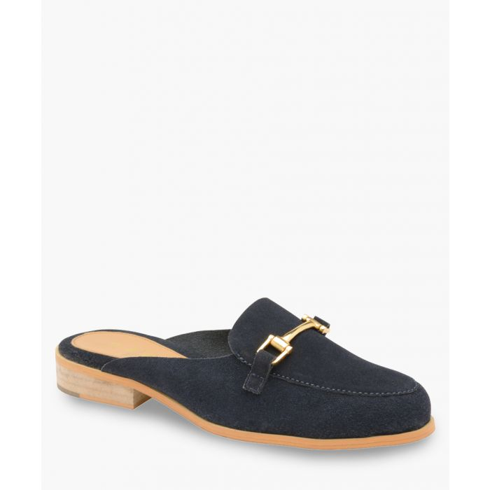 Image for Navy slip-on shoes