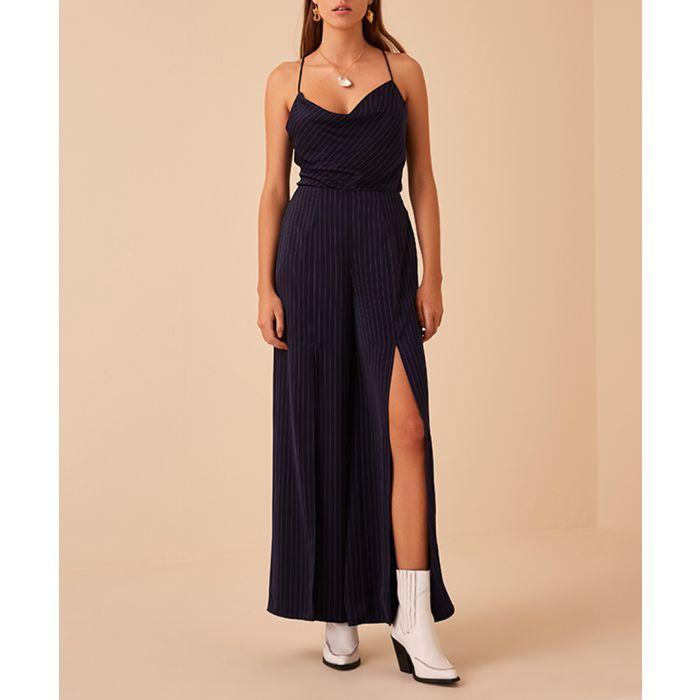 Image for Navy Stripe Flamenco Pant