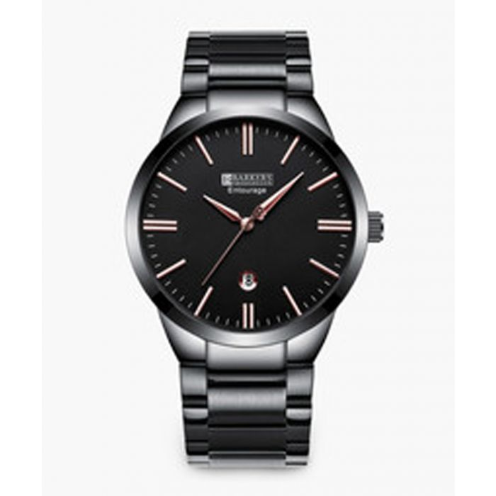 Image for Entourage silver and rose-tone watch