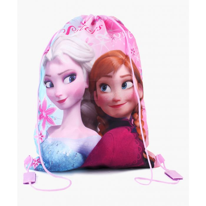 Image for Frozen sisters pink gym bag