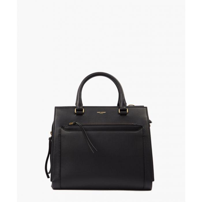Image for East Side black leather bag