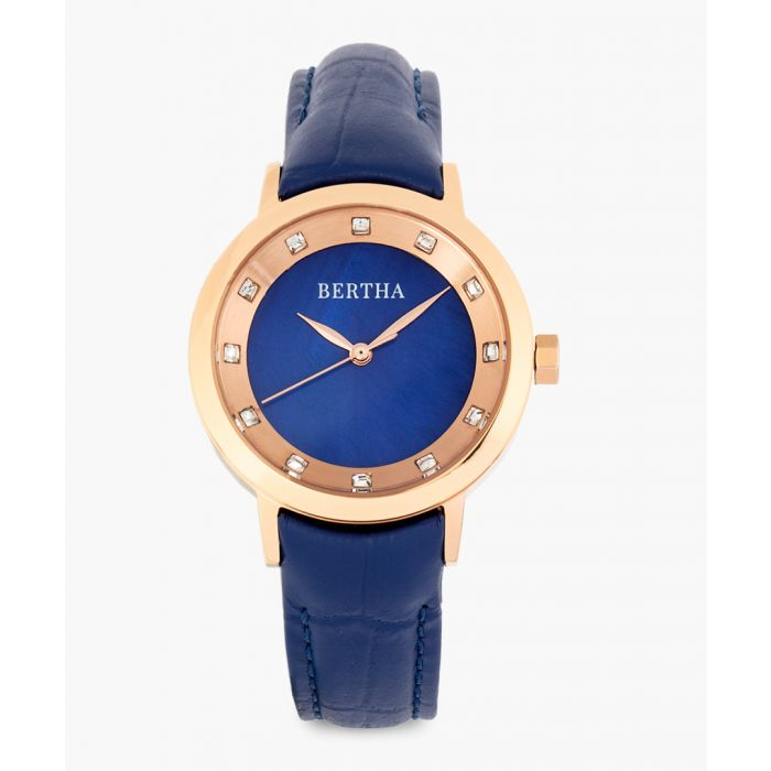 Image for Cecelia blue watch
