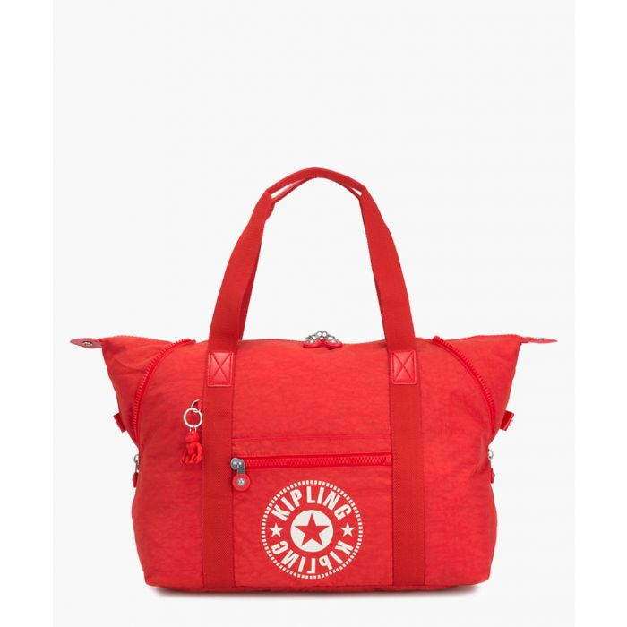 Image for Art red logo tote