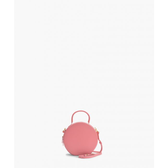 Image for pink calfskin circle crossbody bag