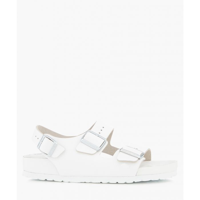 Image for Milano white narrow-fit sandals
