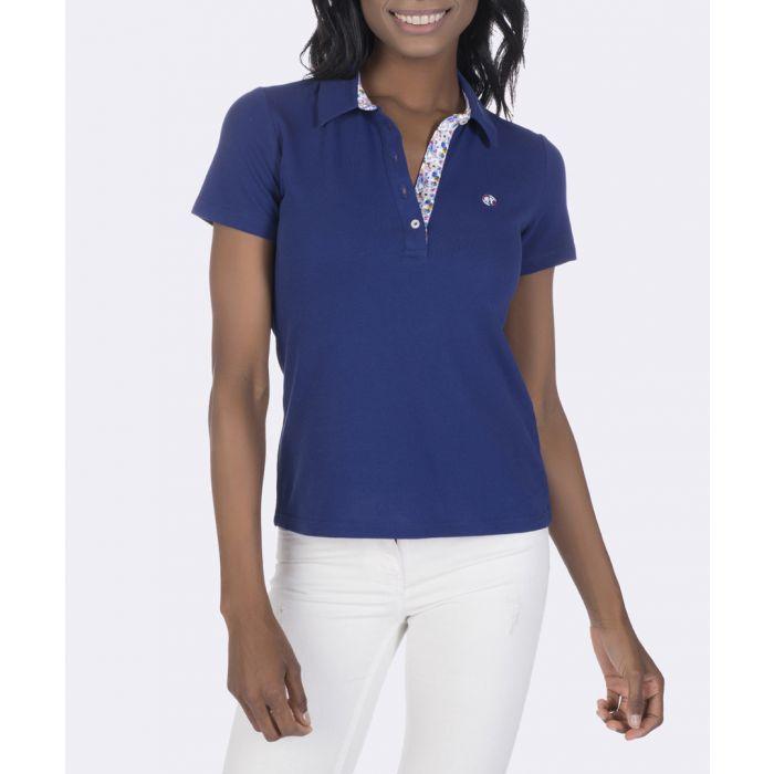 Image for Indigo pure cotton polo shirt
