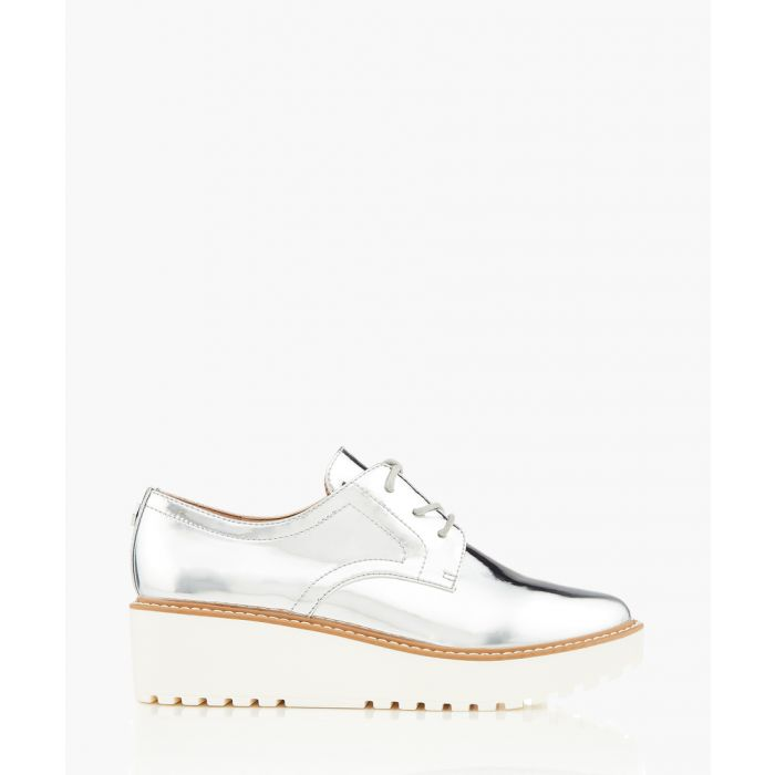 Image for Anderson silver-tone platform sneakers