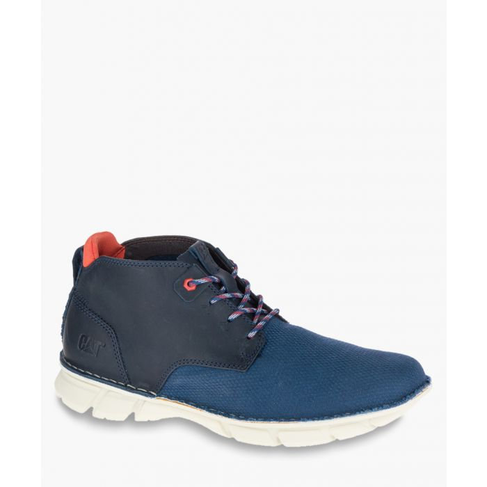 Image for Almanac blue mesh ankle boots