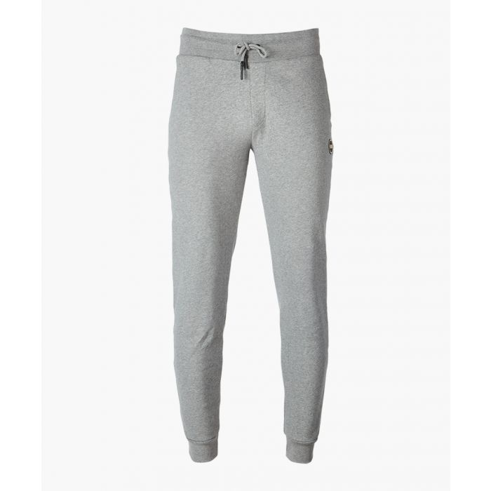 Image for Grey pure cotton trousers