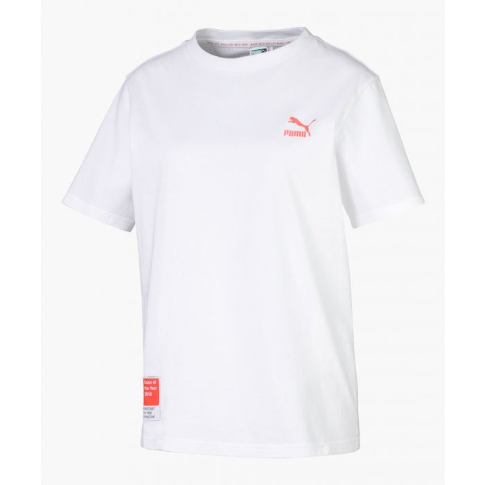 Image for x pantone white pure cotton T-shirt