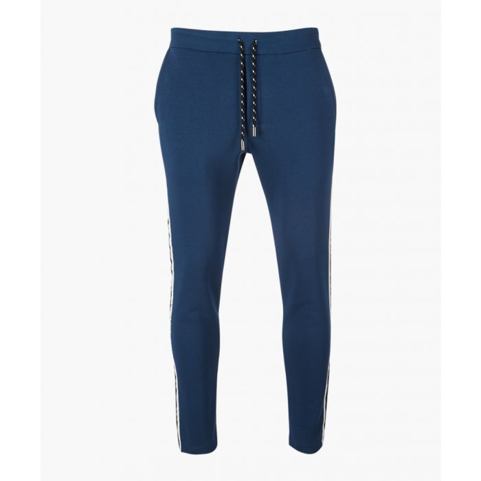 Image for Blue drawstring trousers