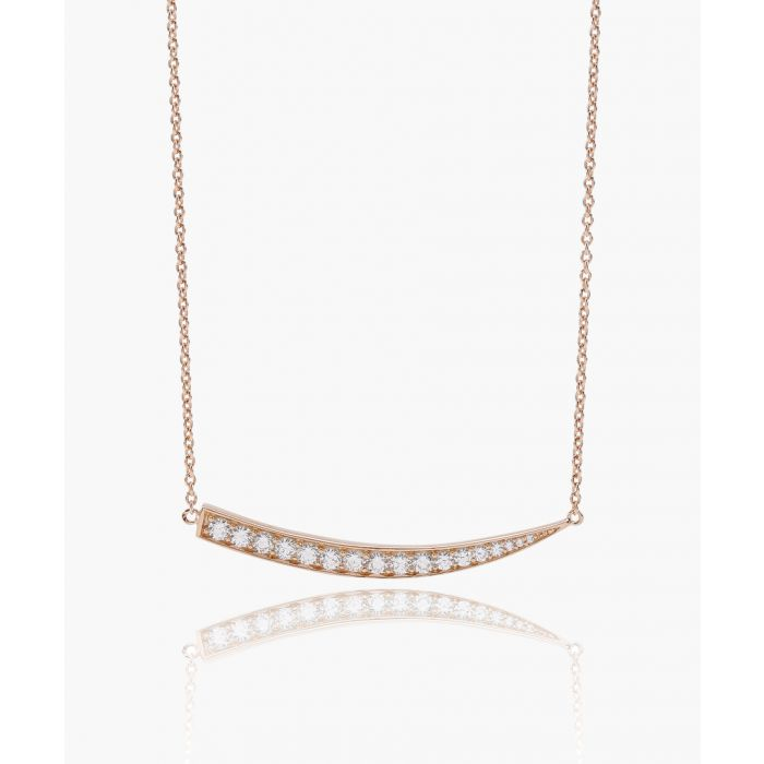 Image for Pila Grande rose gold-plated necklace