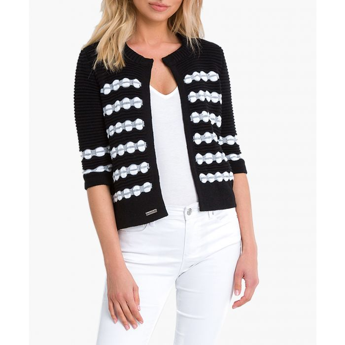Image for Black knitted cardigan