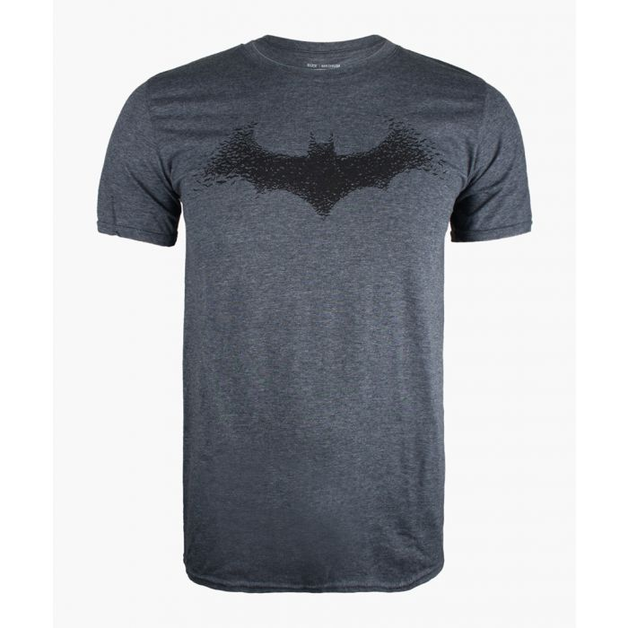 Image for Bat grey cotton blend T-shirt