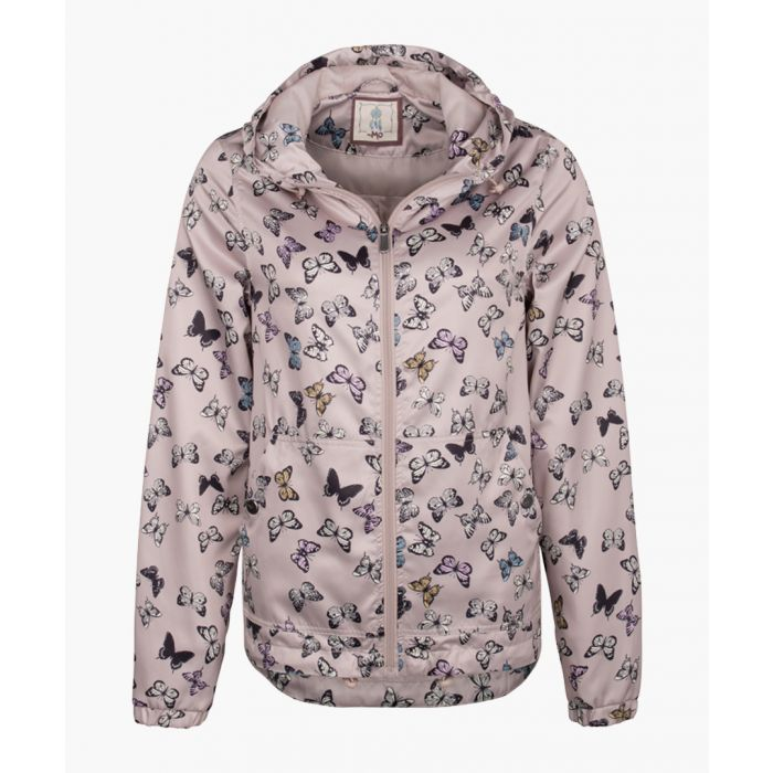 Image for Nude butterfly printed jacket