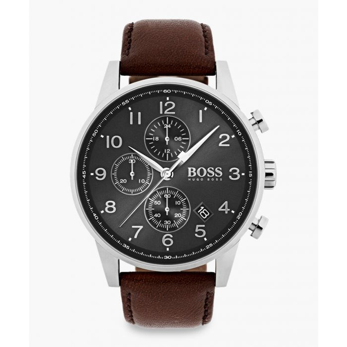 Image for Brown steel watch
