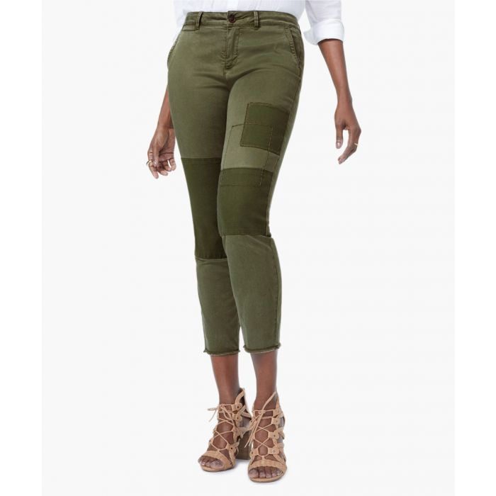 Image for Skinny olive chino jeans