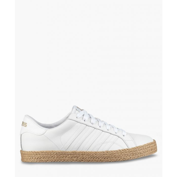 Image for Belmont So Jute white trainers