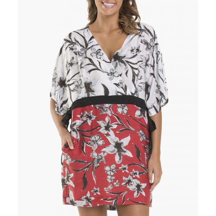 Image for Oasis lily silk blend wrap kaftan
