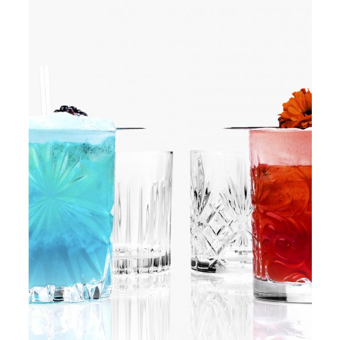 Image for 4pc Mixology Luxion Crystal tumblers set