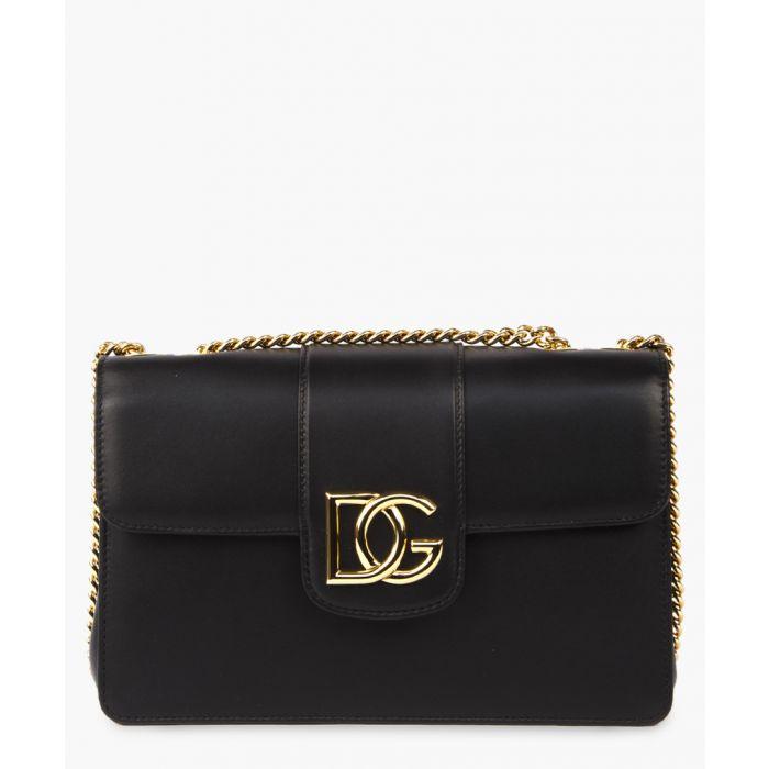 Image for DG Millennials black leathter shoulder bag
