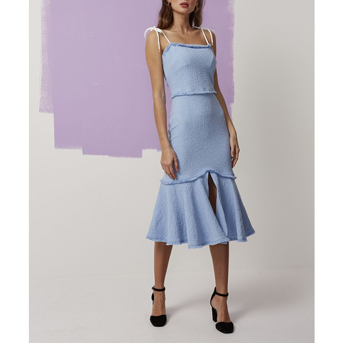 Image for Pale Blue Echo Dress