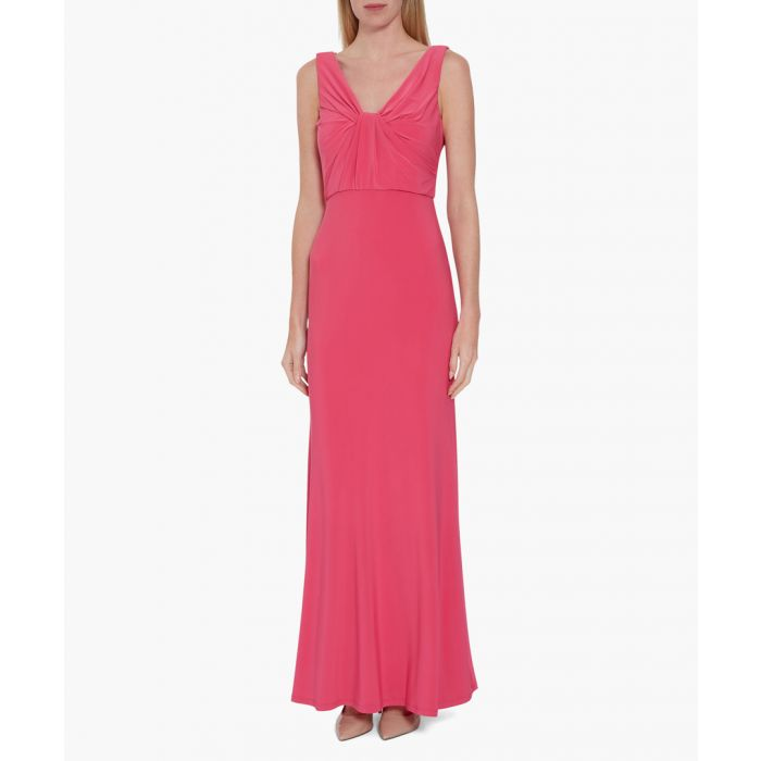 Image for Fuchsia maryse jersey maxi dress