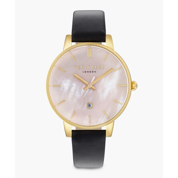 Image for Kate PVD gold-plated and leather watch