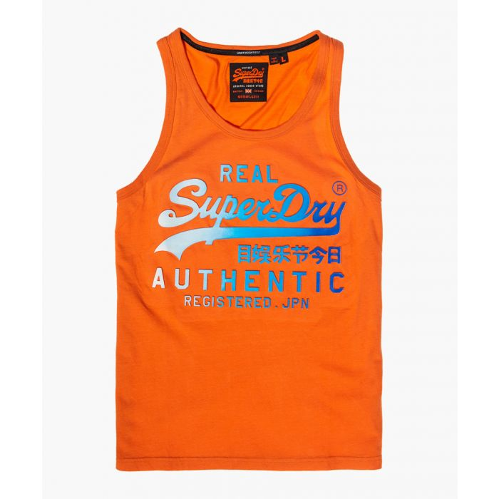 Image for SuperdryV LOGO AUTHENTIC FADE MID WEIGHT VEST