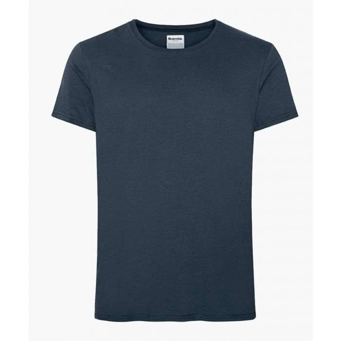 Image for Navy cotton t-shirt