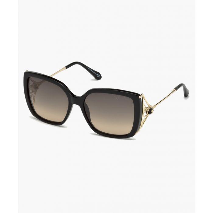 Image for Gaiole black sunglasses