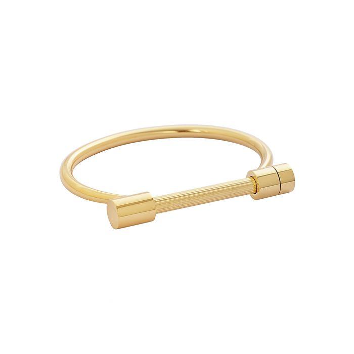 Image for 18k gold-plated steel bracelet