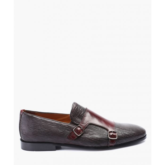 Image for Bordeaux leather Oxford shoes