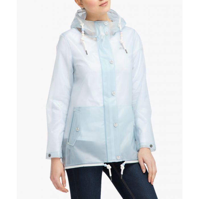 Image for Pastel blue raincoat