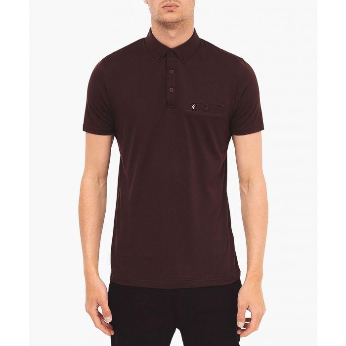 Image for Espresso pure cotton polo shirt