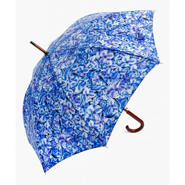 Image for Blue butterfly foldable umbrella