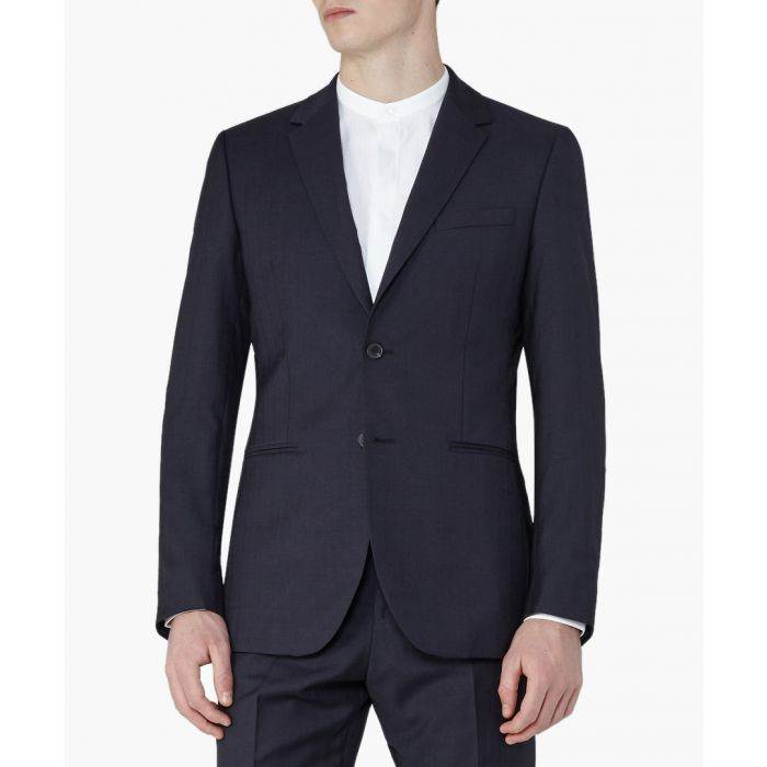 Image for Pose navy pure wool blazer