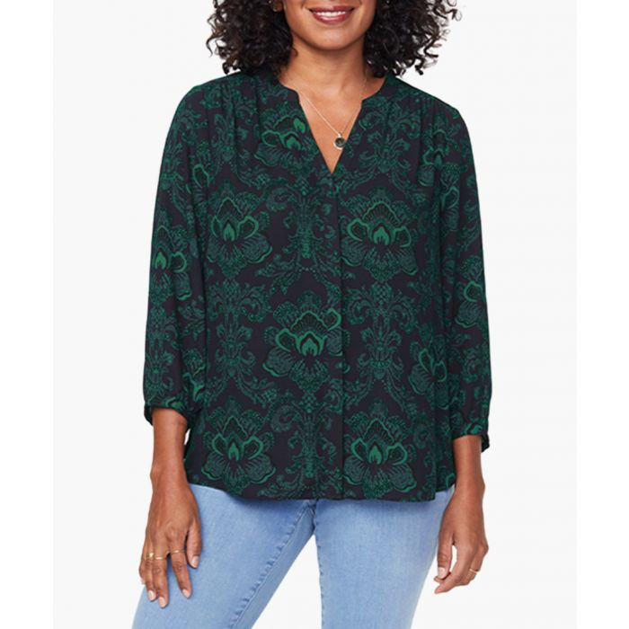 Image for Bayview garden blouse