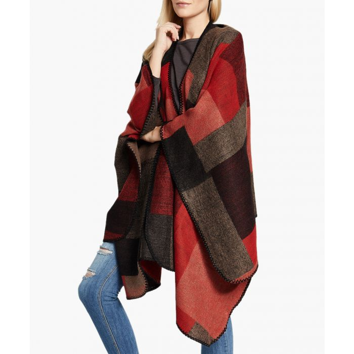 Image for Wine red poncho