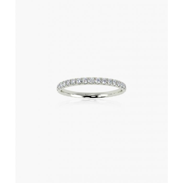 Image for 9k white gold 0.50ct diamond eternity ring