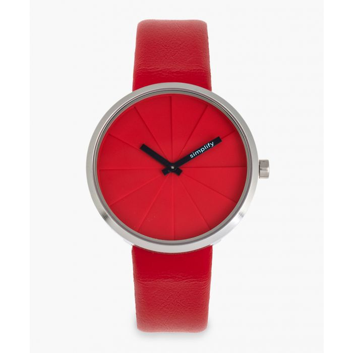 Image for The 4000 red genuine leather watch