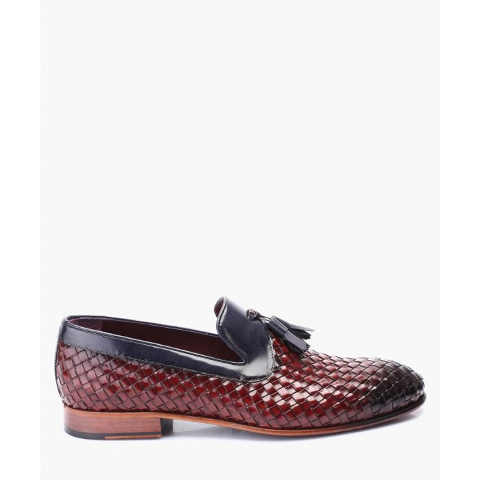 Image for Multi-coloured leather loafers