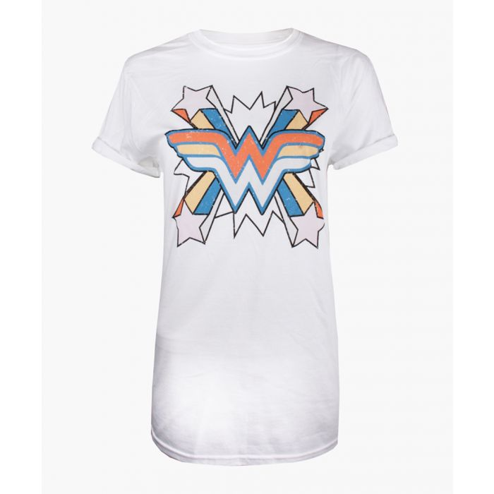 Image for WW burst white cotton T-shirt