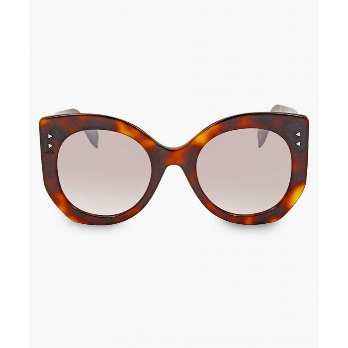 Image for Dark havana and brown gradient sunglasses