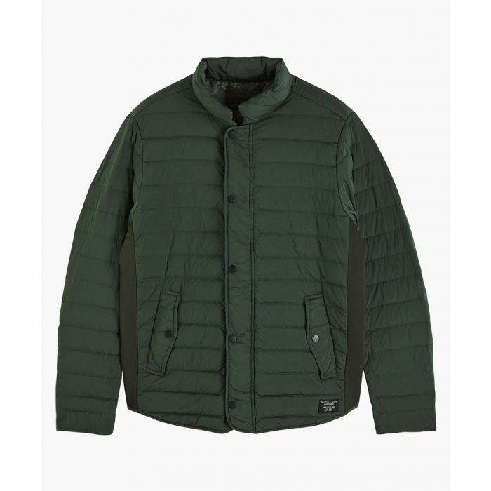 Image for Boxing green quilted gilet