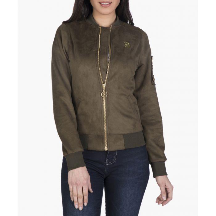 Image for Khaki green jacket