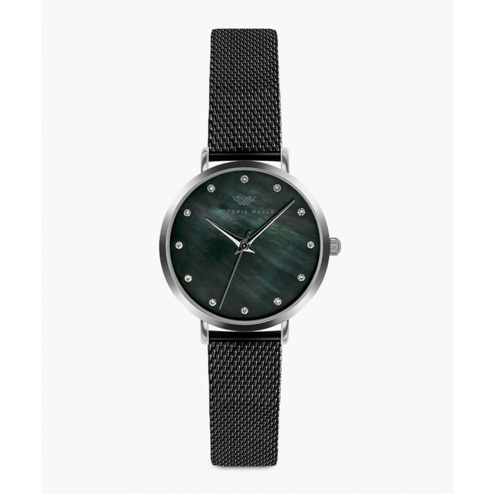 Image for Amanda stainless steel analogue watch