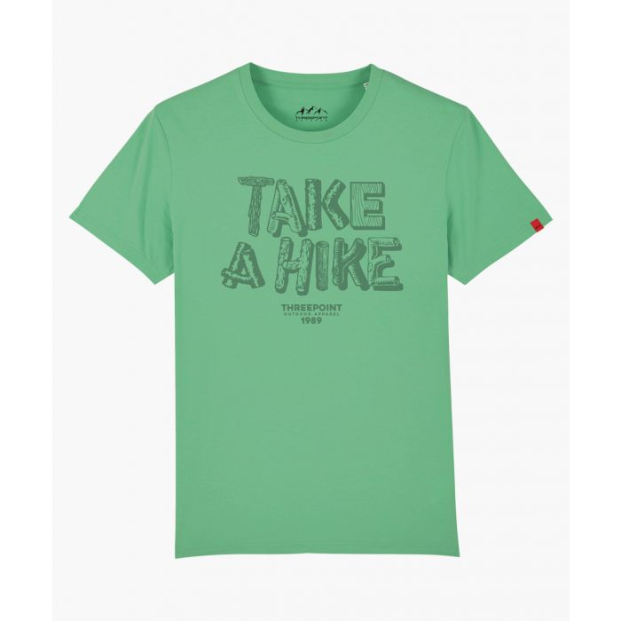 Image for Take A Hike green T-shirt