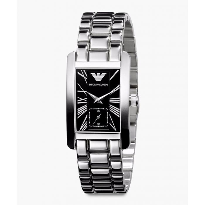 Image for Silver plated stainless steel watch