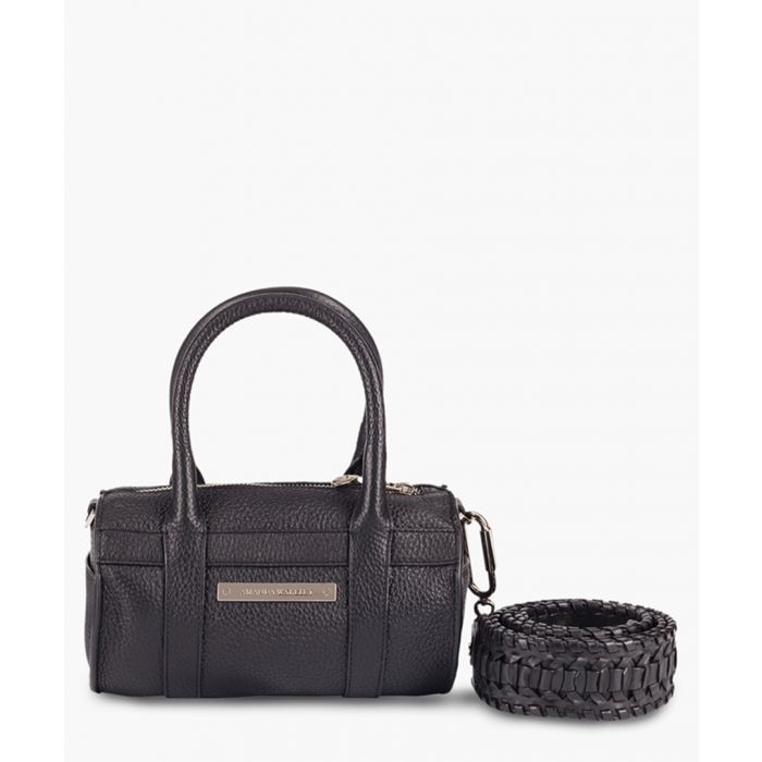 Image for Mini Hendrix black leather crossbody